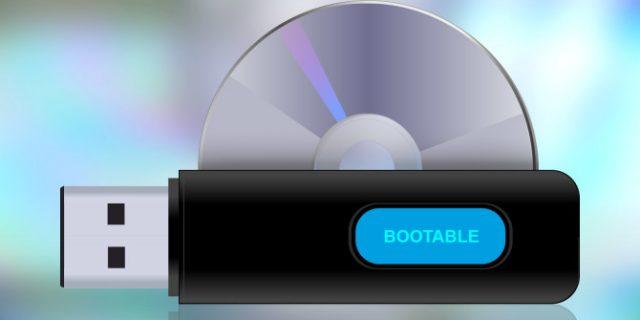 cara membuat booatbel usb