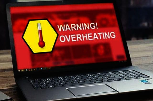 Jangan biarkan Laptop terlalu panas