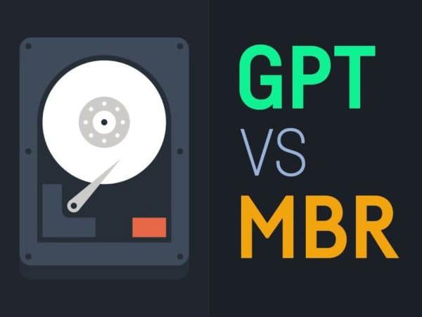 Apa saja perbedaan antara GPT dan MBR?