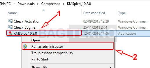 Mengaktifkan Office 2013 menggunakan KMS Pico