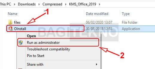 Cara aktivasi Microsoft Office 2013 menggunakan KMS Office 2019