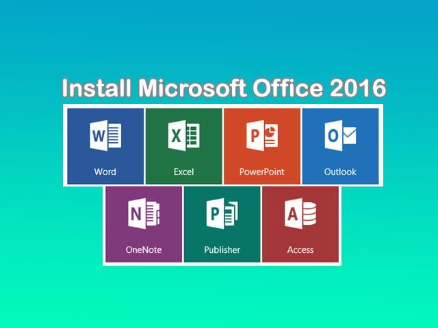 Cara install Microsoft Office 2016 di Laptop Windows