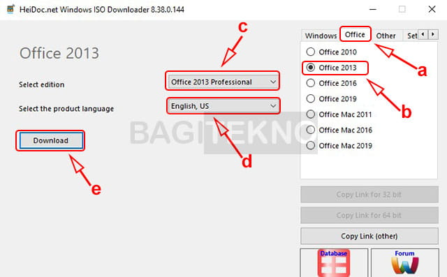 Cara mengunduh Microsoft Office 2013 langsung dari server Microsoft