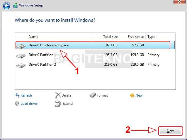 Menginstall ulang Windows 10 terbaru