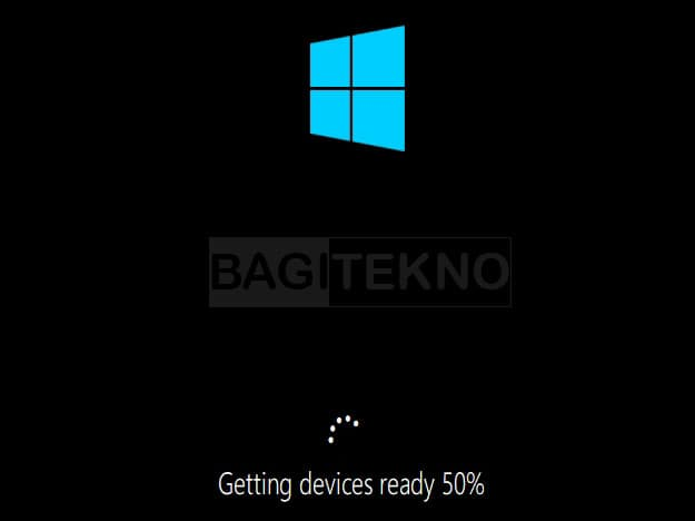 Windows 10 menyelesaikan setup