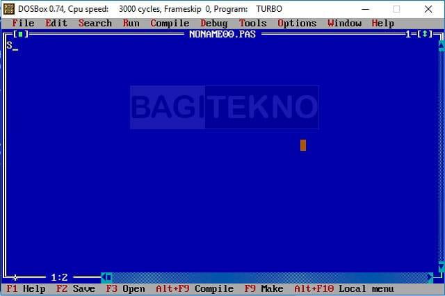 Cara menginstall aplikasi DosBox di Windows 64 bit