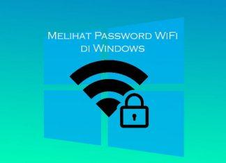 Cara melihat password WiFi menggunakan Windows 10