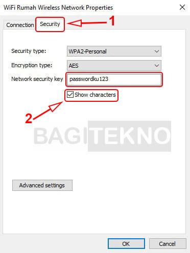Know the WiFi password on Windows