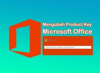 Cara mengubah product key Office 2013 / 2016 / 2019