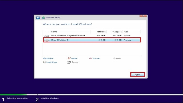 Cara clean install Windows 10 Fall Creators Update