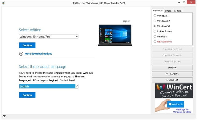 download iso windows 10 fall creators update dari server microsoft