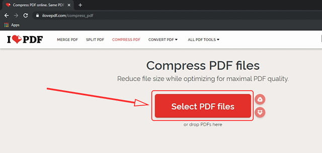 Mengecilkan ukuran PDF online