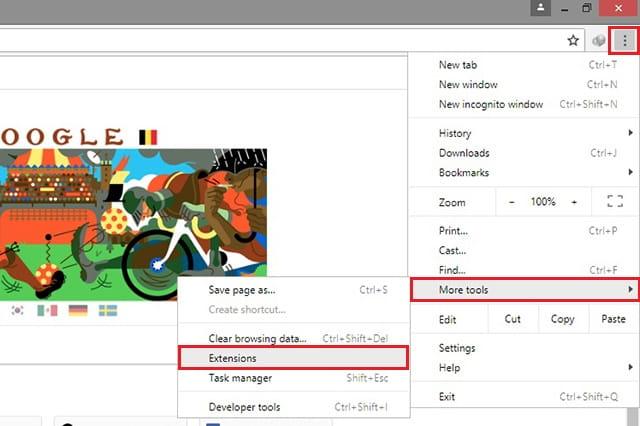 cara install ekstensi google chrome