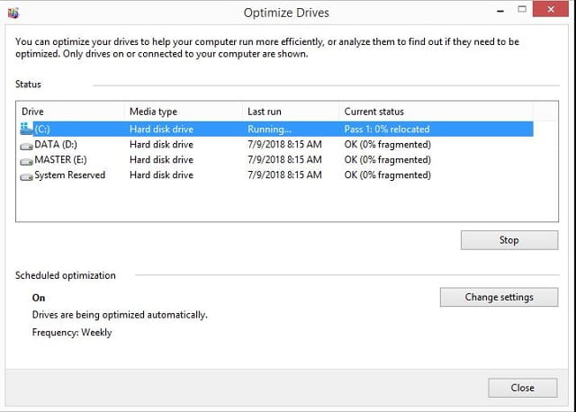 cara melakukan defrag hardisk pada laptop windows