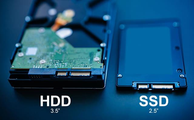 perbedaan hdd dan ssd pada laptop