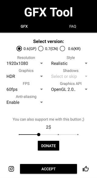 Pengaturan GFX Tool untuk memaksimalkan grafis PUBG di Android