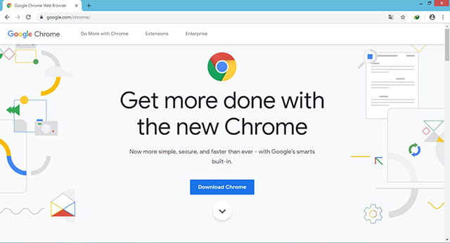 Browser windows terbaik - Google Chrome