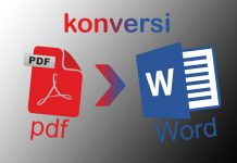 Cara mudah konversi pdf ke Word tanpa software khusus