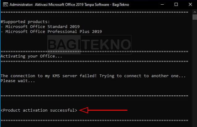Cara aktifkan Office 2019 tanpa software