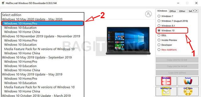 Cara download Windows 10 edisi terbaru
