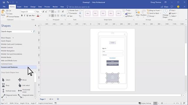 Fitur baru Microsoft Office Visio 2019