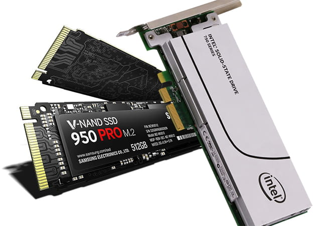 Jenis SSD PCIe
