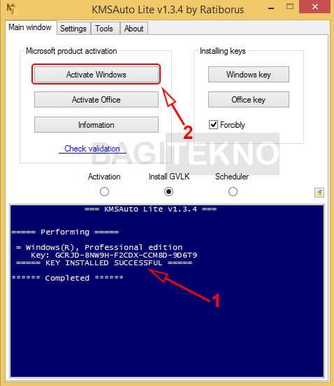Activate Windows 8.1
