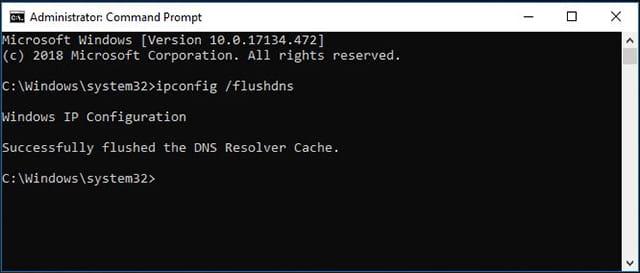 Cara Resolve DNS pada Windows menggunakan CMD