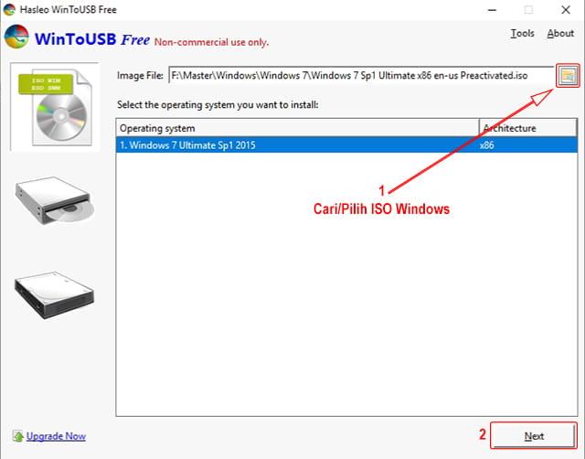 Cara mudah Install Windows 10 di Flashdsik