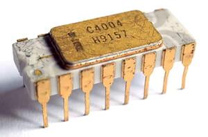 Jenis prosesor Intel 4004