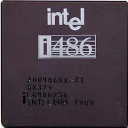 Jenis prosesor Intel 486