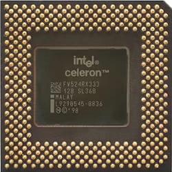 Jenis prosesor Intel Celeron