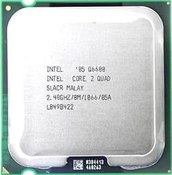 Jenis prosesor Intel Core 2