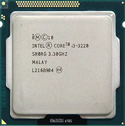 Jenis prosesor Intel Core i3