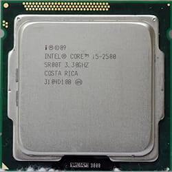 Jenis prosesor Intel Core i5
