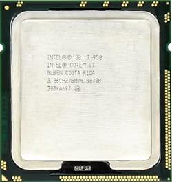 Jenis prosesor Intel Core i7