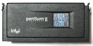 Jenis prosesor Intel Pentium II