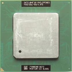 Jenis prosesor Intel Pentium III