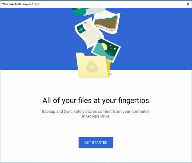 Cara menggunakan Google Backup and Sync