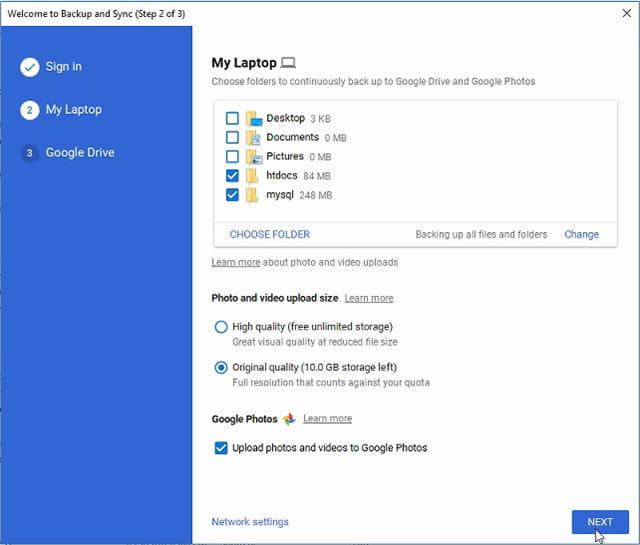 Backup otomatis data ke Google Drive