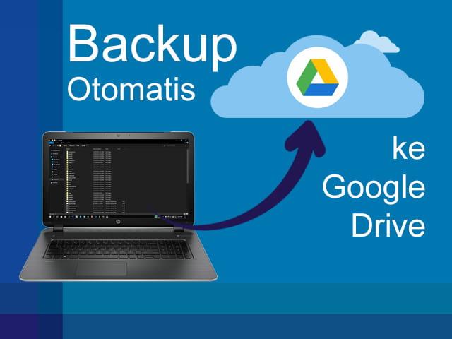 Sinkronisasi Google Drive dengan Laptop