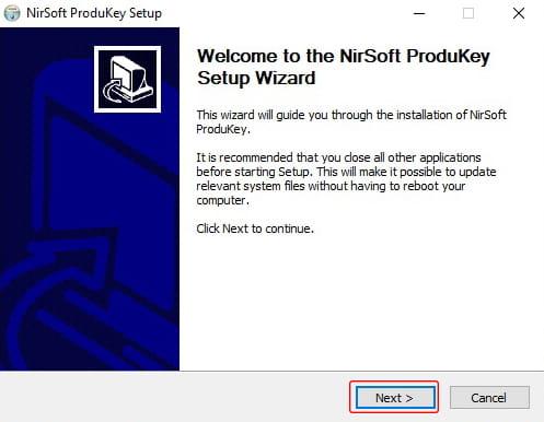 Cara install NirSoft ProductKey