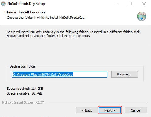 Cara backup product key Windows menggunakan Cara install NirSoft ProductKey