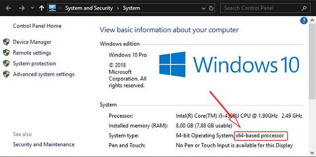 Cara mengetahui bit laptop di Windows 7, Windows 8/8.1, atau Windows 10