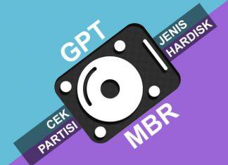 Cara cek jenis partisi Hardisk, apakah GPT atau MBR