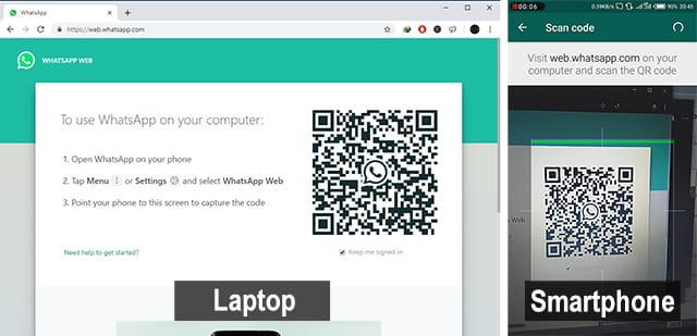 Cara menggunakan WhatsApp di browser