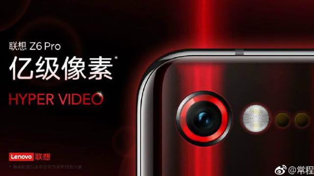 Lenovo Z6 Pro hadir dengan membawa kamera 100MP