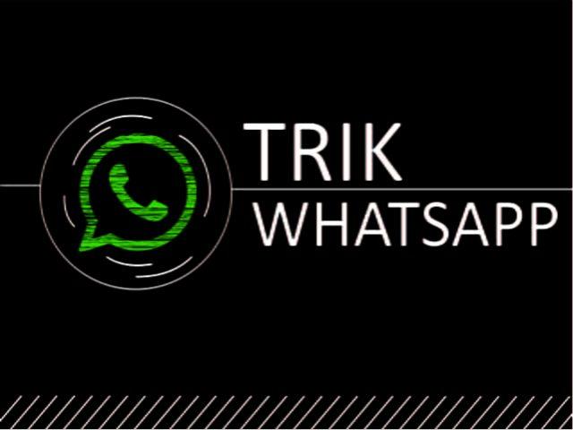 Cara sadap WhatsApp 2018 terbaru