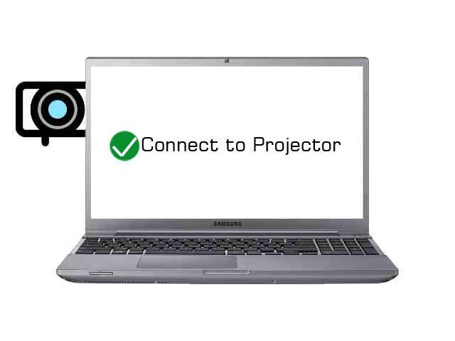 cara mengatur layar laptop saat terhubung proyektor