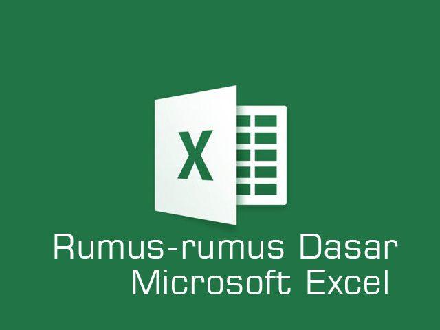 rumus-rumus microsoft excel